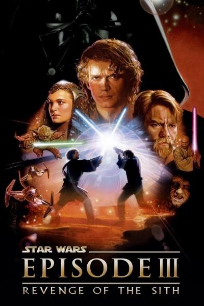 Caratula, cartel, poster o portada de La guerra de las galaxias. Episodio III: La venganza de los Sith