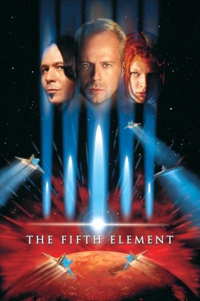Caratula, cartel, poster o portada de El quinto elemento