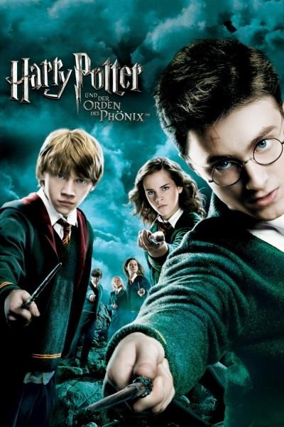Caratula, cartel, poster o portada de Harry Potter y la orden del Fénix