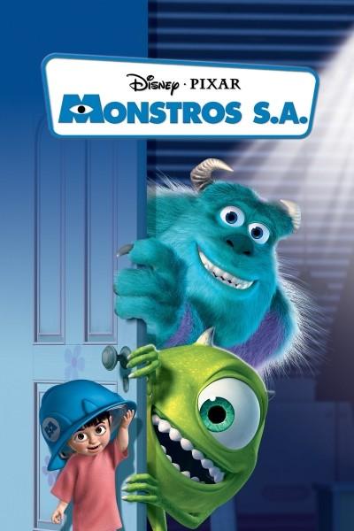 Caratula, cartel, poster o portada de Monstruos, S.A.