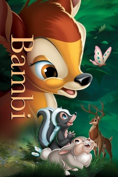 Caratula, cartel, poster o portada de Bambi