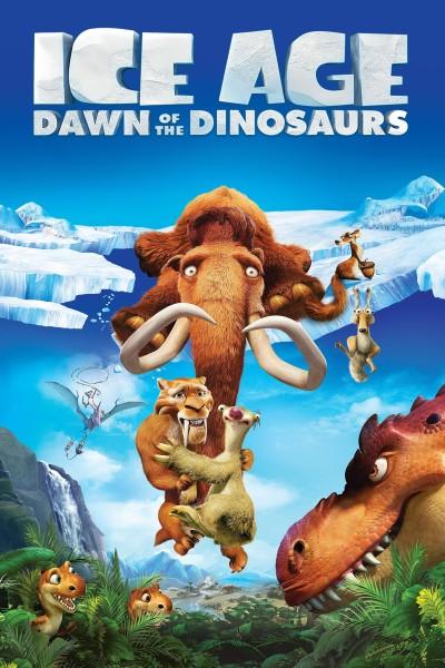 Caratula, cartel, poster o portada de Ice Age 3: El origen de los dinosaurios