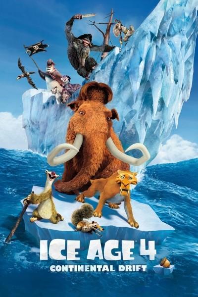 Caratula, cartel, poster o portada de Ice Age 4: La formación de los continentes