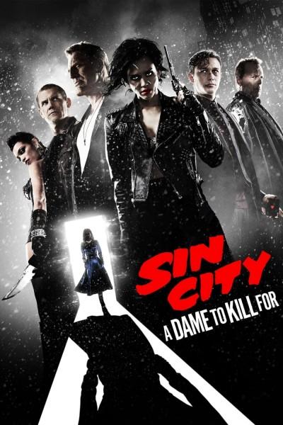 Caratula, cartel, poster o portada de Sin City: Una dama por la que matar