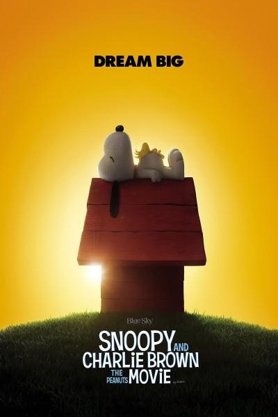 Caratula, cartel, poster o portada de Carlitos y Snoopy: La película de Peanuts
