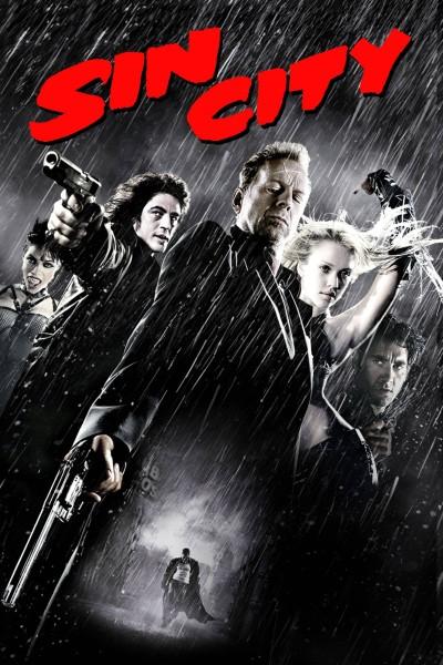 Caratula, cartel, poster o portada de Sin City (Ciudad del pecado)