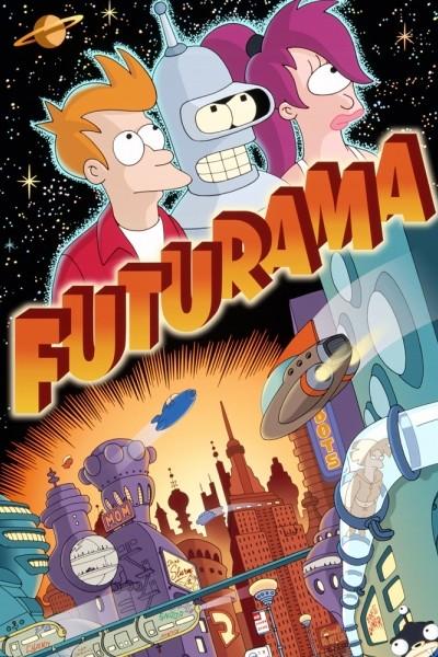 Caratula, cartel, poster o portada de Futurama