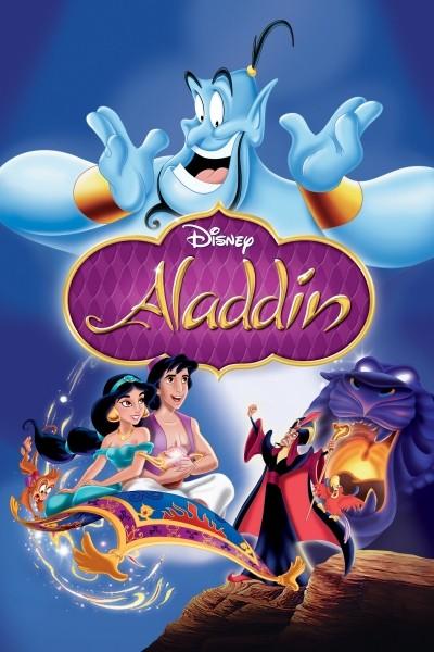 Caratula, cartel, poster o portada de Aladdin (Aladino)