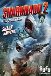 Caratula, cartel, poster o portada de Sharknado 2: El regreso