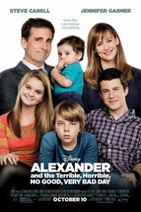 Caratula, cartel, poster o portada de Alexander y el día terrible, horrible, espantoso, horroroso
