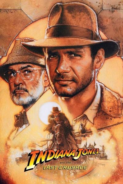 Caratula, cartel, poster o portada de Indiana Jones y la última cruzada