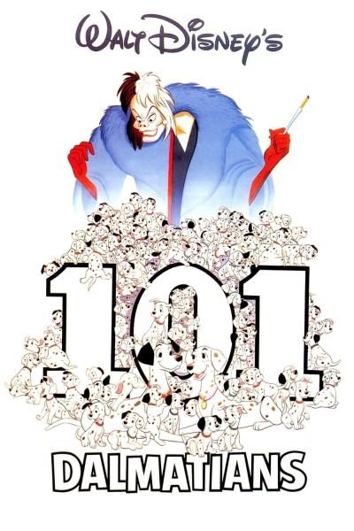 Caratula, cartel, poster o portada de 101 dálmatas