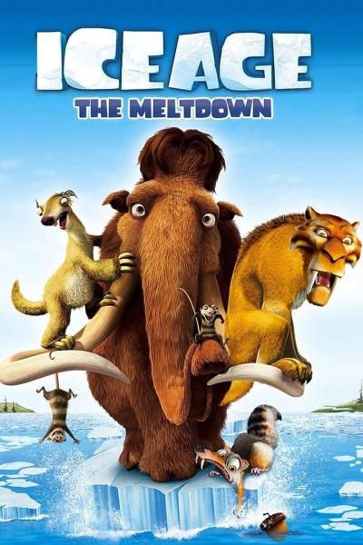 Caratula, cartel, poster o portada de Ice Age 2: El deshielo