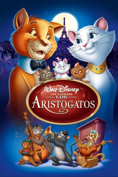 Caratula, cartel, poster o portada de Los aristogatos