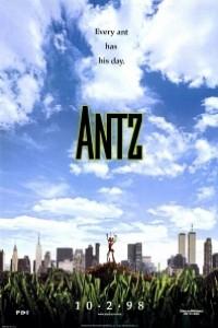 Caratula, cartel, poster o portada de Antz (Hormigaz)