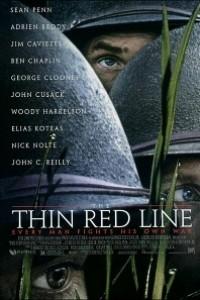 Caratula, cartel, poster o portada de La delgada línea roja