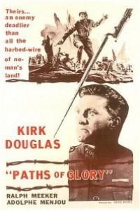 Caratula, cartel, poster o portada de Senderos de gloria