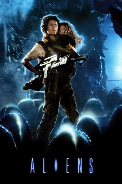 Caratula, cartel, poster o portada de Aliens: El regreso