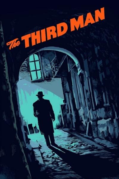 Caratula, cartel, poster o portada de El tercer hombre