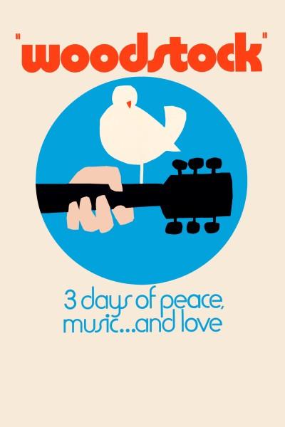 Caratula, cartel, poster o portada de Woodstock, 3 días de paz y música