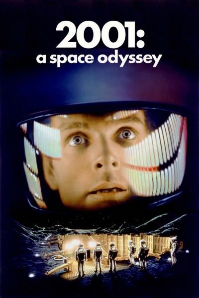 Caratula, cartel, poster o portada de 2001: Una odisea del espacio