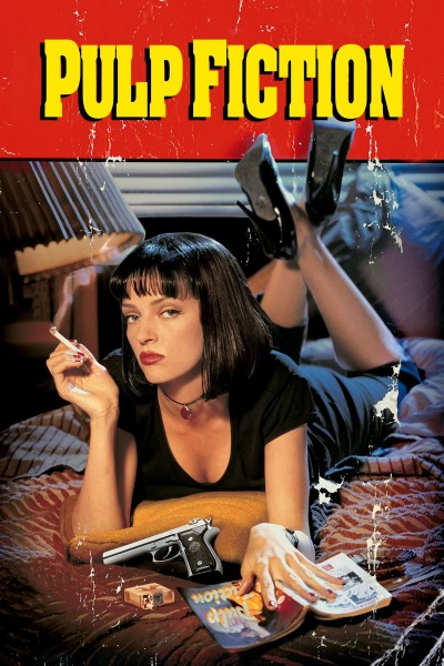 Caratula, cartel, poster o portada de Pulp Fiction
