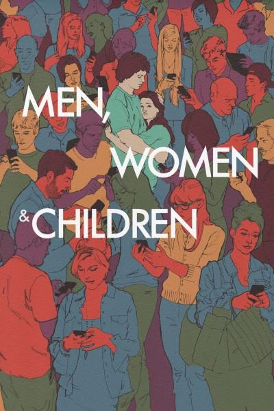 Caratula, cartel, poster o portada de Hombres, mujeres y niños