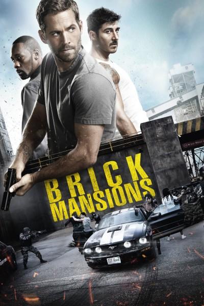 Caratula, cartel, poster o portada de Brick Mansions (La fortaleza)