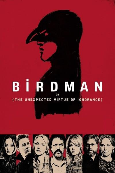 Caratula, cartel, poster o portada de Birdman o (La Inesperada Virtud de la Ignorancia)