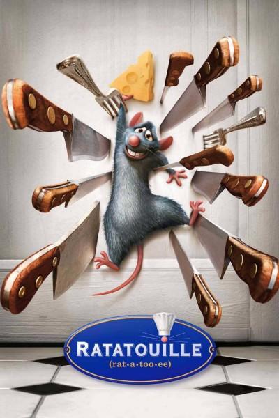 Caratula, cartel, poster o portada de Ratatouille