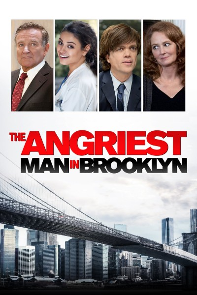Caratula, cartel, poster o portada de El hombre más enfadado de Brooklyn