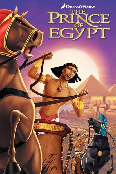 Caratula, cartel, poster o portada de El príncipe de Egipto