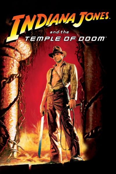Caratula, cartel, poster o portada de Indiana Jones y el templo maldito