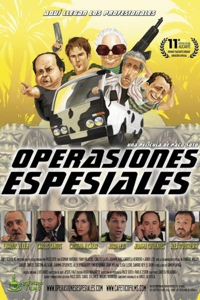 Caratula, cartel, poster o portada de Operasiones espesiales