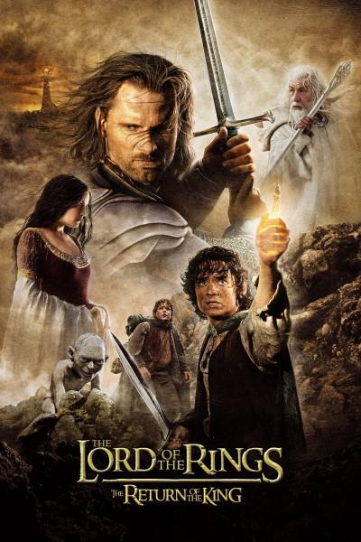 Caratula, cartel, poster o portada de El señor de los anillos: El retorno del rey