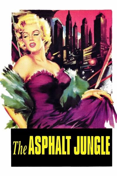 Caratula, cartel, poster o portada de La jungla de asfalto