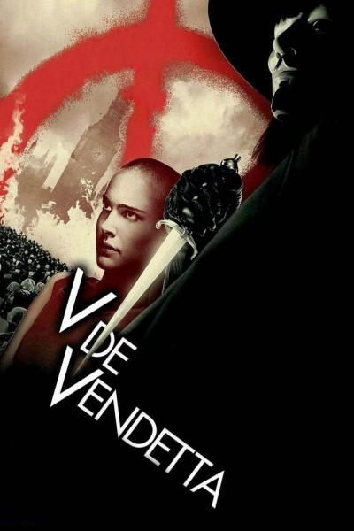 Caratula, cartel, poster o portada de V de Vendetta