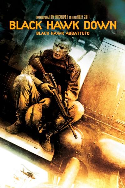 Caratula, cartel, poster o portada de Black Hawk derribado