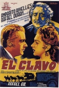 Caratula, cartel, poster o portada de El clavo