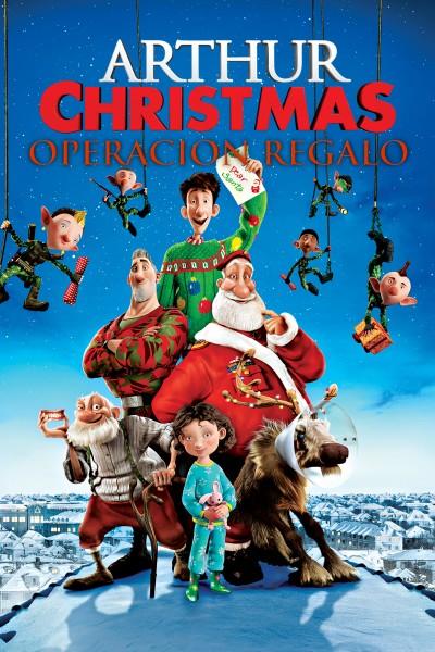 Caratula, cartel, poster o portada de Arthur Christmas: Operación Regalo