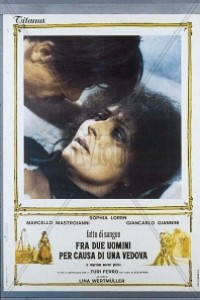 Caratula, cartel, poster o portada de La viuda indomable