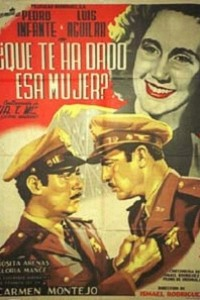 Caratula, cartel, poster o portada de ¡¿Qué te ha dado esa mujer?!