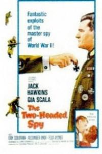 Caratula, cartel, poster o portada de El espía de dos cabezas