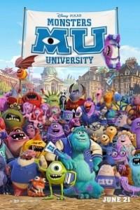 Caratula, cartel, poster o portada de Monstruos University