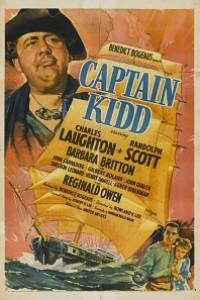 Caratula, cartel, poster o portada de El capitán Kidd