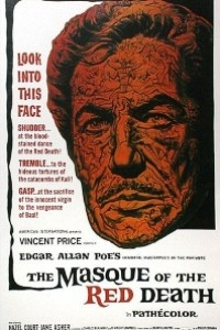 Caratula, cartel, poster o portada de La máscara de la muerte roja