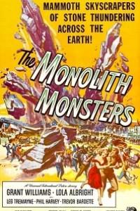 Caratula, cartel, poster o portada de Monstruos de piedra (The Monolith Monsters)