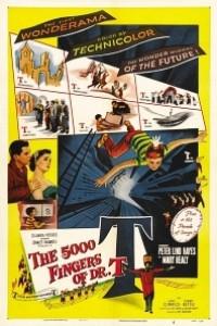 Caratula, cartel, poster o portada de Los 5000 dedos del Dr. T