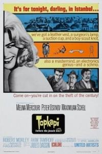 Caratula, cartel, poster o portada de Topkapi
