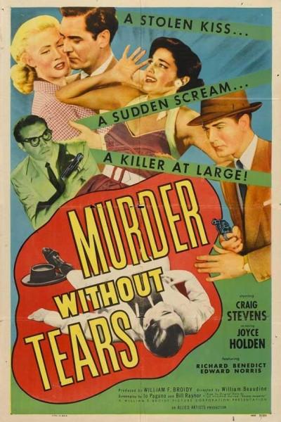 Caratula, cartel, poster o portada de Murder Without Tears